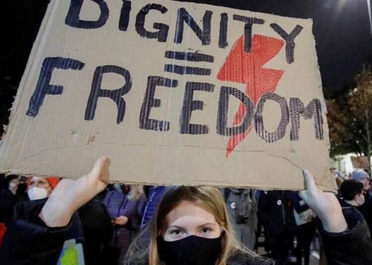 protesti u poljskoj
