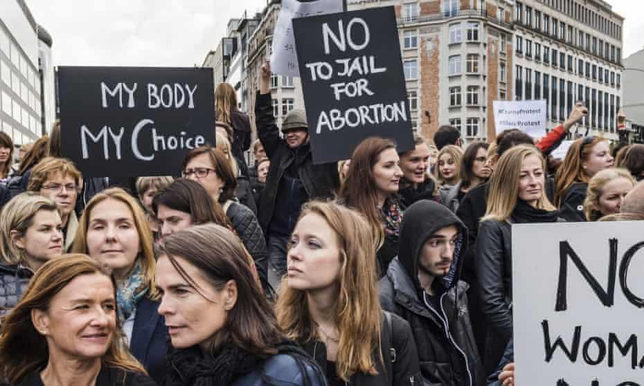 protesti u poljskoj zbog prava na abortus
