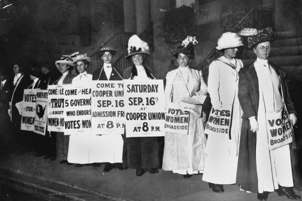 rights for women to vote