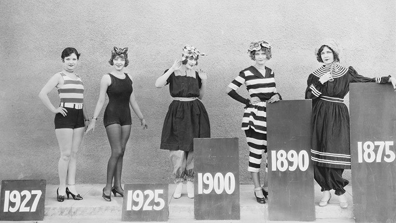 swimming suits history