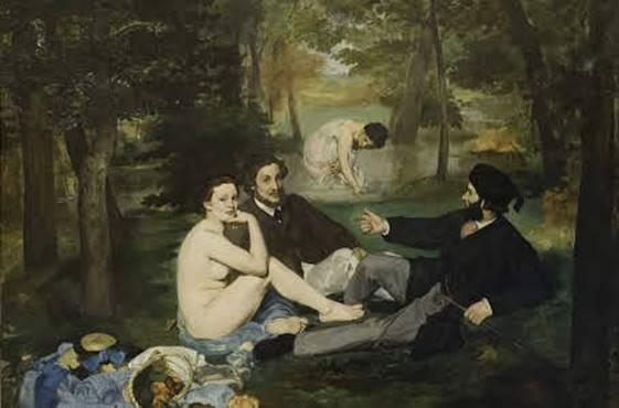 women on paintings