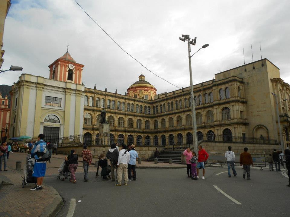 city center of bogota